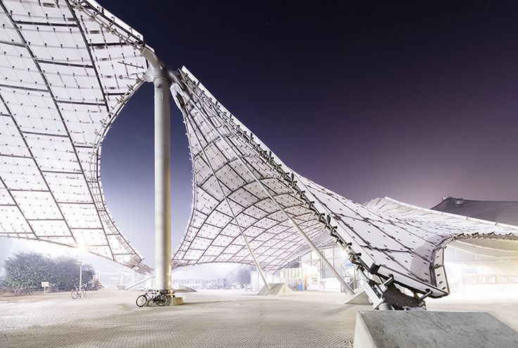 [Olympiastadion] München/ Deutschland architekt: Günther Behnisch, Frei Otto  Radek Brunecky Architektur Fotografie Zürich