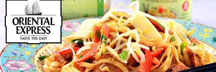 Stir-Fry με Χοιρινό, Νουντλς Αυγών και Ανάμικτα Ασιατικά Λαχανικά