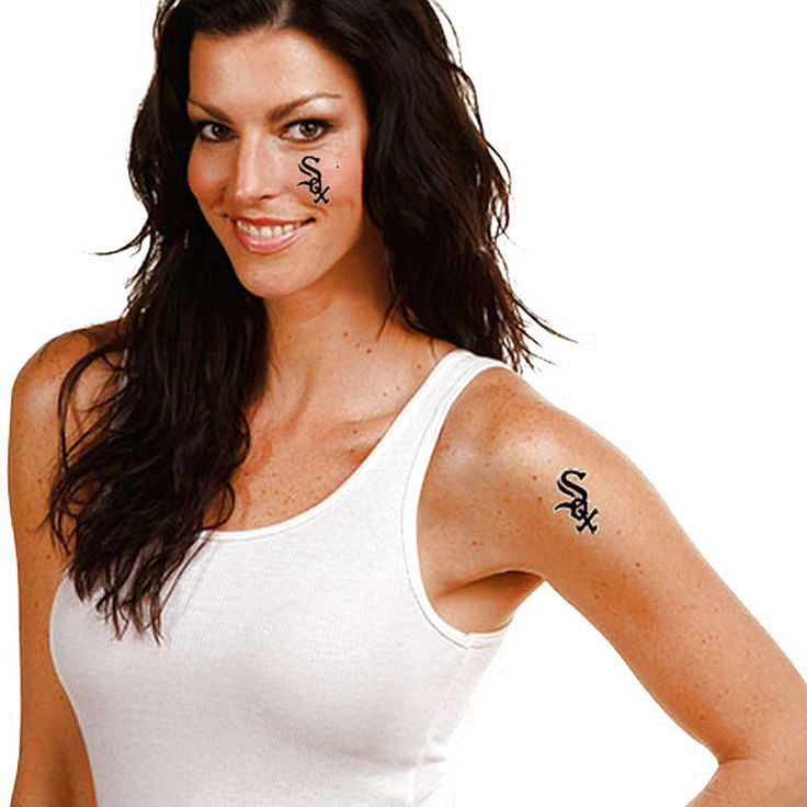 Chicago white sox 4pack temporary tattoos 239
