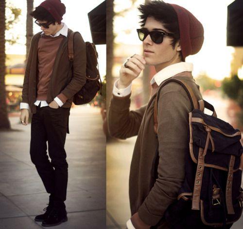 hipster boy (looks like kenyon to me)