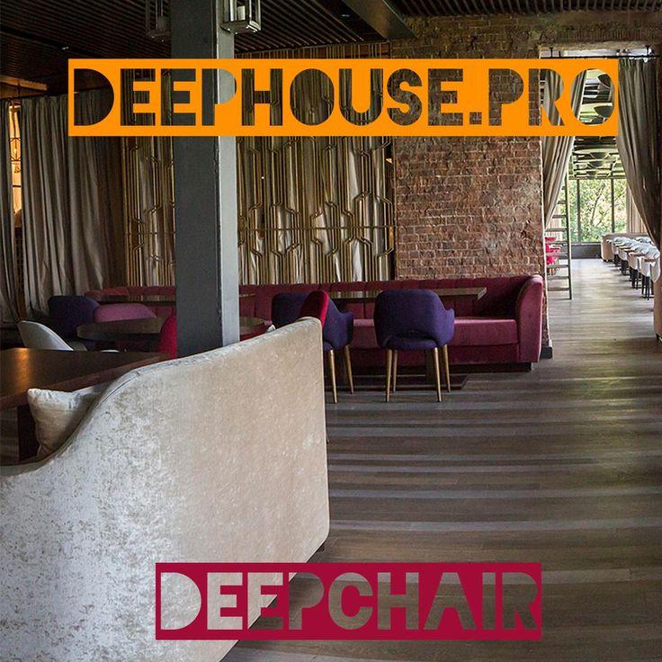 #deephouse #deepchair #Белый и #фиолетовый Мягкие и стильные #стулья подойдут для любого #бара и #ресторана