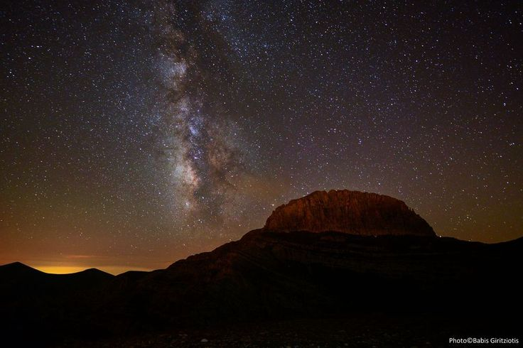 Summer night on the Mountain of the gods Photo by Babis Giritziotis — National Geographic Your Shot