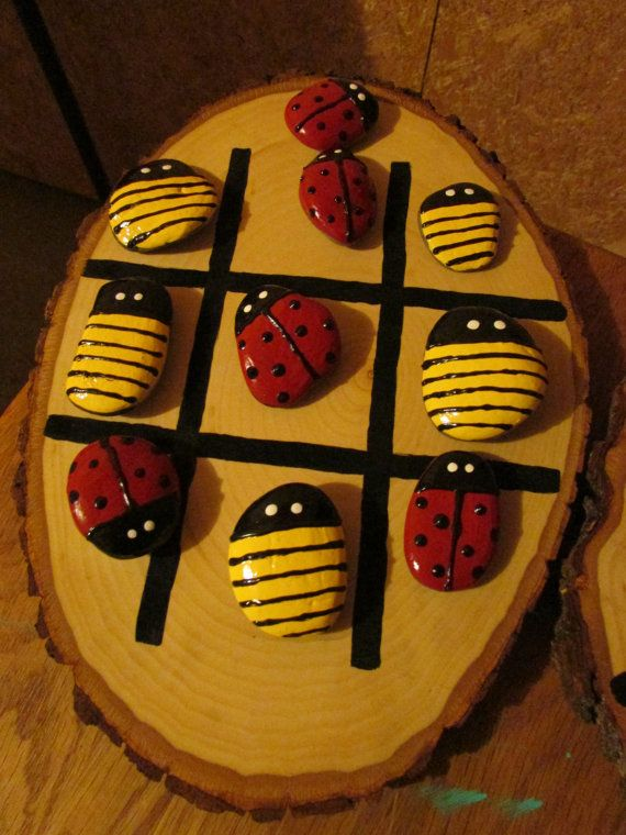 Outdoor Tic Tac Toe Game by SimplyUniquelife on Etsy