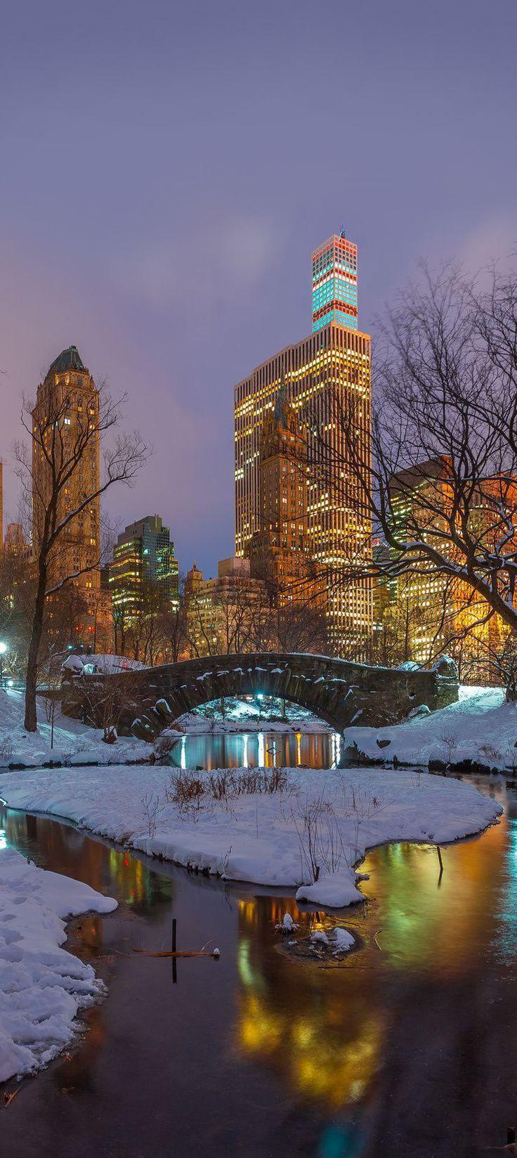 Romantic Central Park, New York City