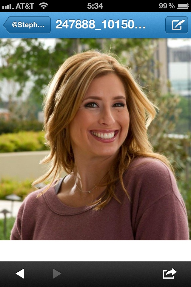 Stephanie Abrams:  The Weather Channel Meterologist