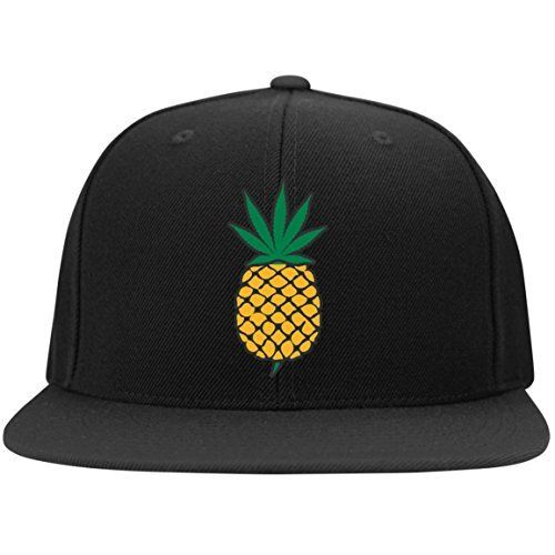 Pineapple Express Weed Leaf Snap Back Hat //Price: $1.47 & FREE Shipping //     #cannabisstrains
