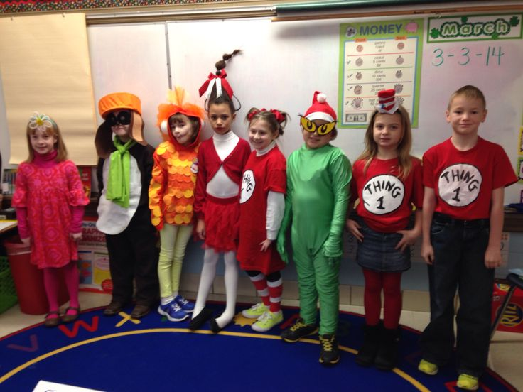 Dr Seuss Day Dress Up Dress Up Ideas For Books Pinterest