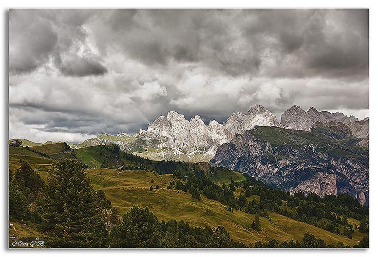Paso del Sella- Dolomitas