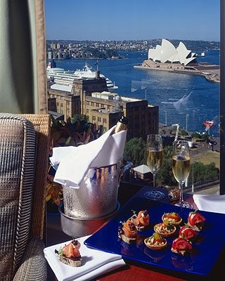 Opera House Views from the Four Seasons Sydney