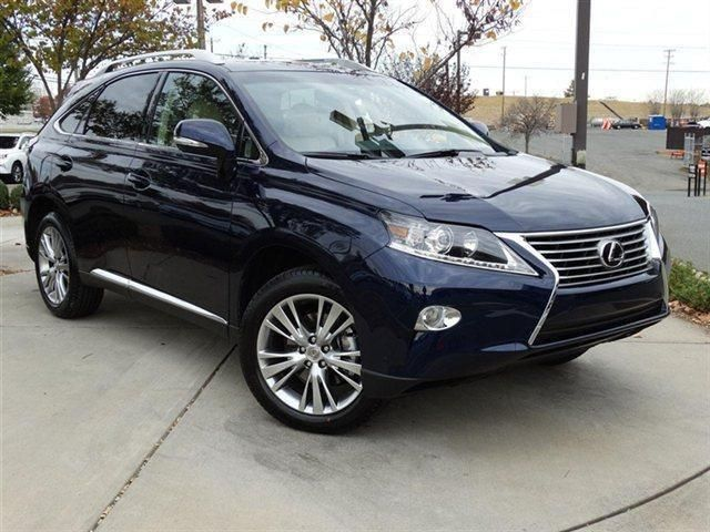 2014 Lexus RX350 Base 4dr SUV SUV 4 Doors Deep Sea Mica for sale in Charlotte, NC Source: http://www.usedcarsgroup.com/used-lexus-for-sale-in-charlotte-nc