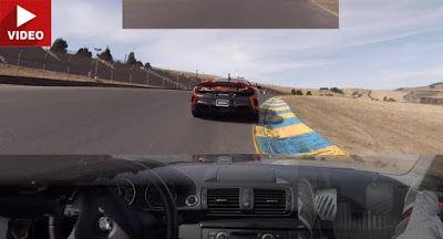 McLaren 675LT weigert sich lassen sich BMW 135i auskommen auf der Spur BMW BMW 1-Series Featured McLaren McLaren 675L Racing Top 5 Video
