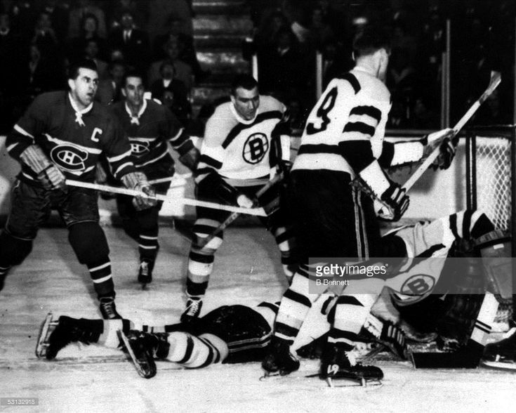 News Photo : Maurice Richard of the Montreal Canadiens looks...