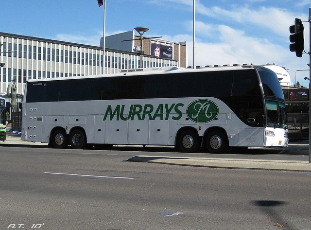Thought the Volvo B9R is big? Scania's Quad-Axle (4 Axles) monster of a bus!