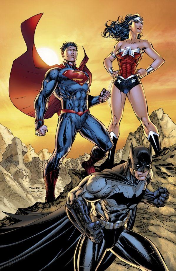 #DC1Million: Win a Signed Jim Lee Lithograph | DC Comics