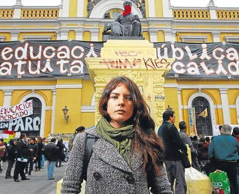 """El movimiento ya no es sólo estudiantil"""" radio.uchile.cl/... #Educacion Universitaria - #Movimiento Estudiantil #camila vallejos #Chile"""
