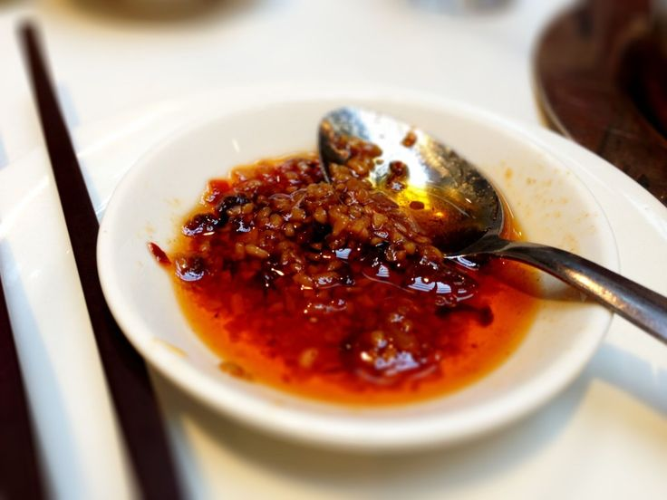 Chinese XO sauce - a delicacy! Found at the best dim sum in Vancouver. http://foodietours.ca/photo-guide-dim-sum-kirin-restaurant/