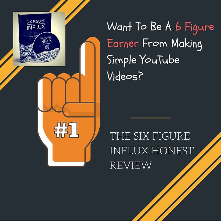 In this honest review of 'The Six Figure Influx' I explain why this product is a great choice for marketers wanting step by step video training on how to make money on YouTube. Nothing is left out! http://learnhowtoearnfromhome.com/the-six-figure-influx-honest-review