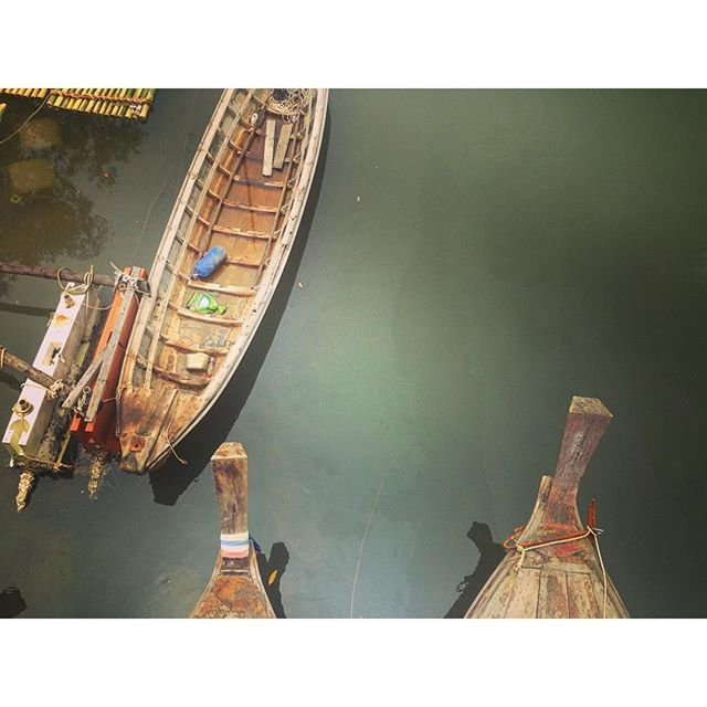 Лодочно-речная #краби #таиланд #thailandonly #wanderlust #krabi #morning #riverlife #asia #travelawesome #instatravel by serjior25