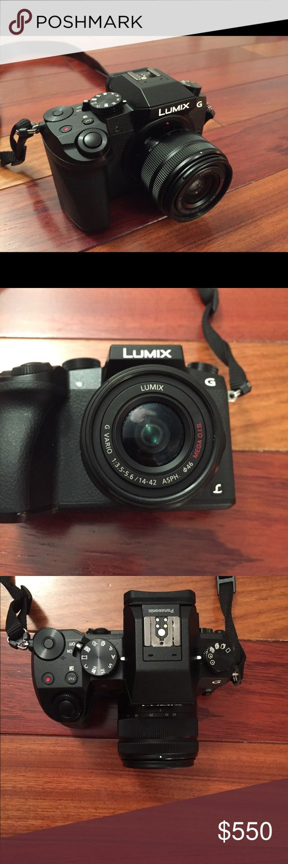 Panasonic Lumix G7 This camera has 4k capabilities for both photos and videos! It works great but I am not a professional photographer and don't use it to it's full capacity.  I will include an SD card and camera bag for a little extra Other