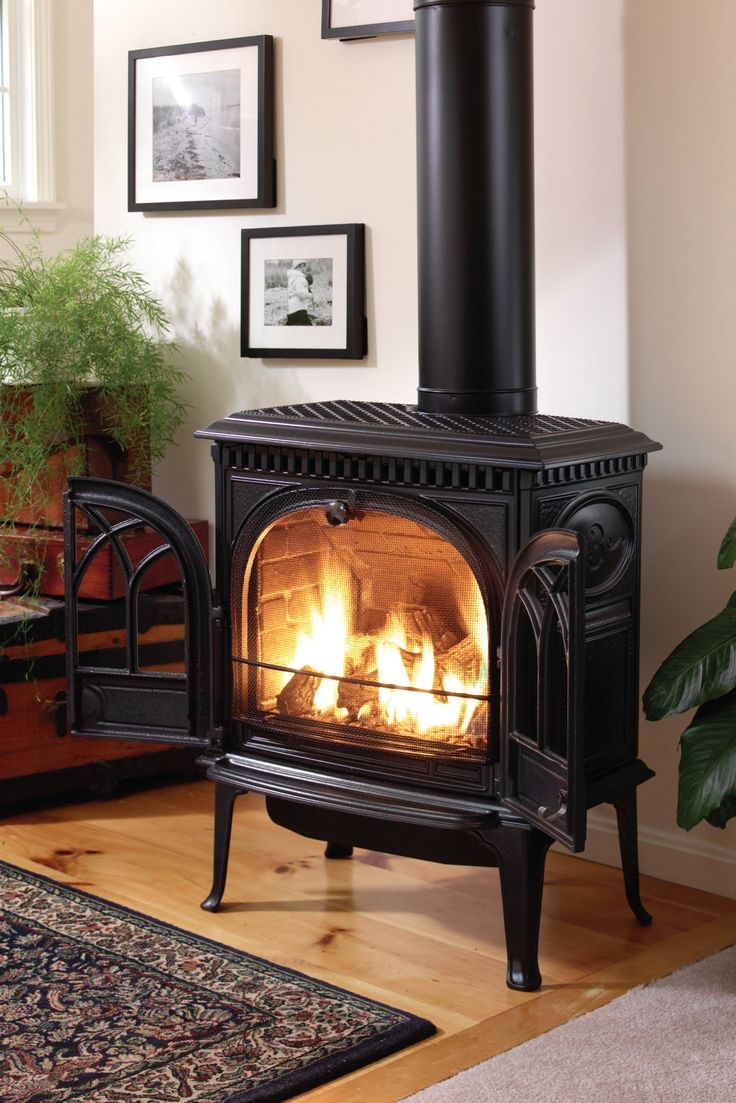 Best 25 Gas stove fireplace ideas on Pinterest