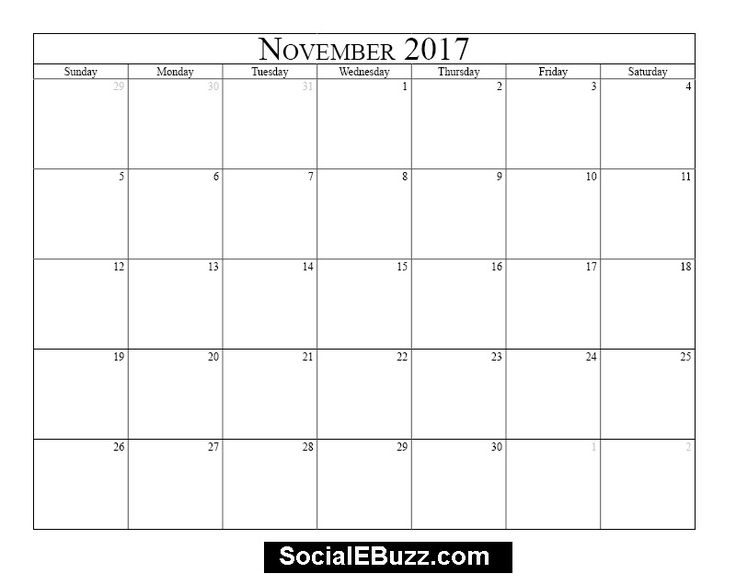 Best  November Printable Calendar Ideas On   November