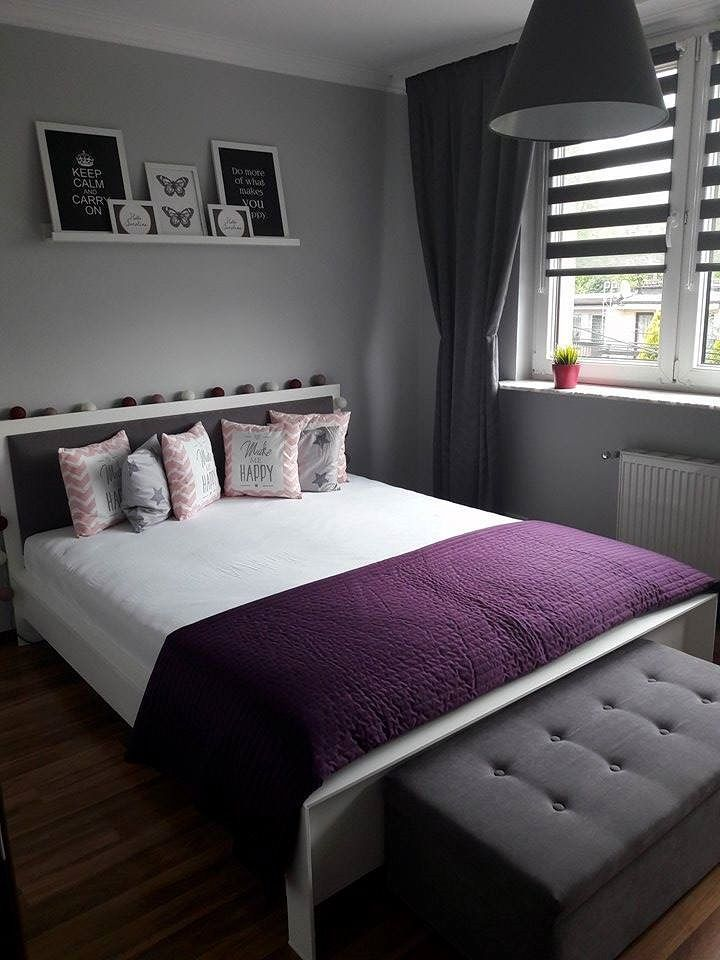 Skandynawska sypialnia Pani Magdy