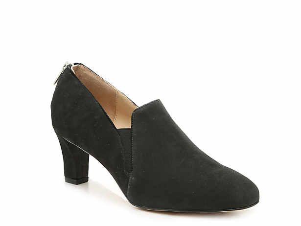 Women S Black Low Heel 1 2 Mid Heel 2 3 Dress Boots Dsw Boots