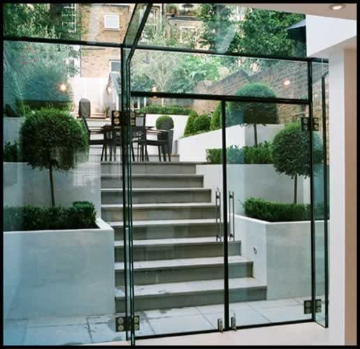 Modern Glass Extensions best 25+ glass extension ideas on pinterest | kitchen extension