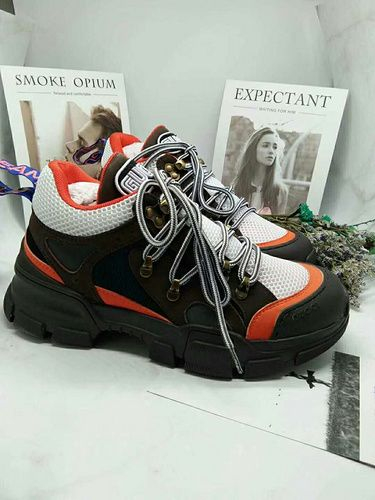 74017c24179 2018 Gucci Sports Shoes Flashtrek sneaker with removable crystals Gucci  Women 35-40 Men 38-44-13860293 Whatsapp 86 17097508495
