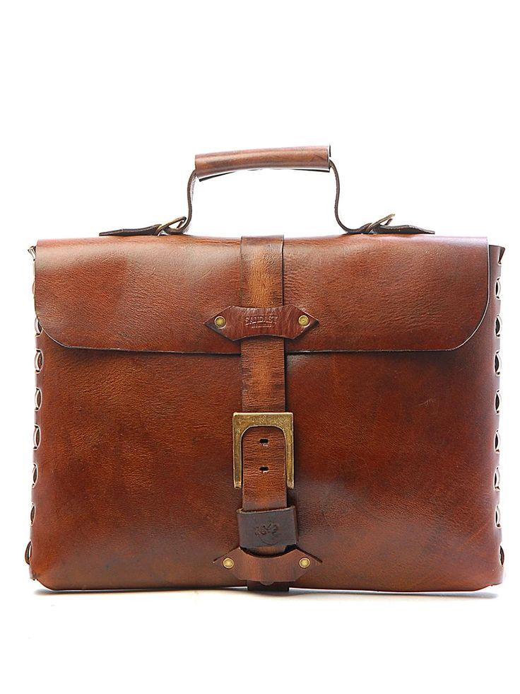 leather messenger.