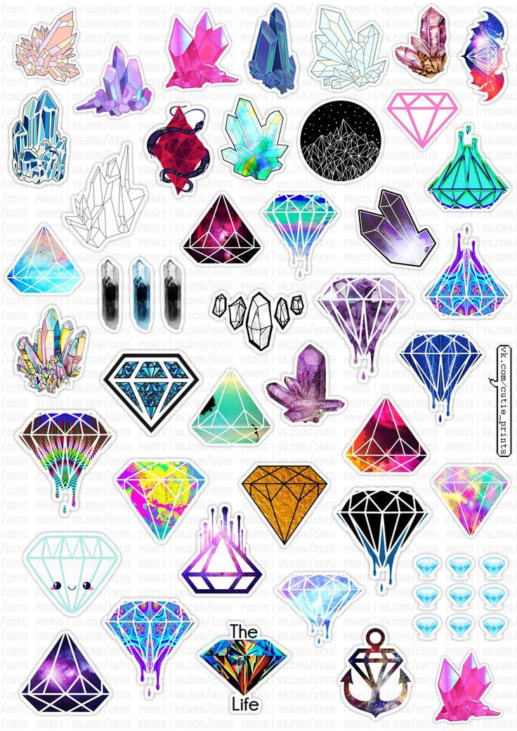 Las 25 Mejores Ideas Sobre Diamante Dibujo En Pinterest Y