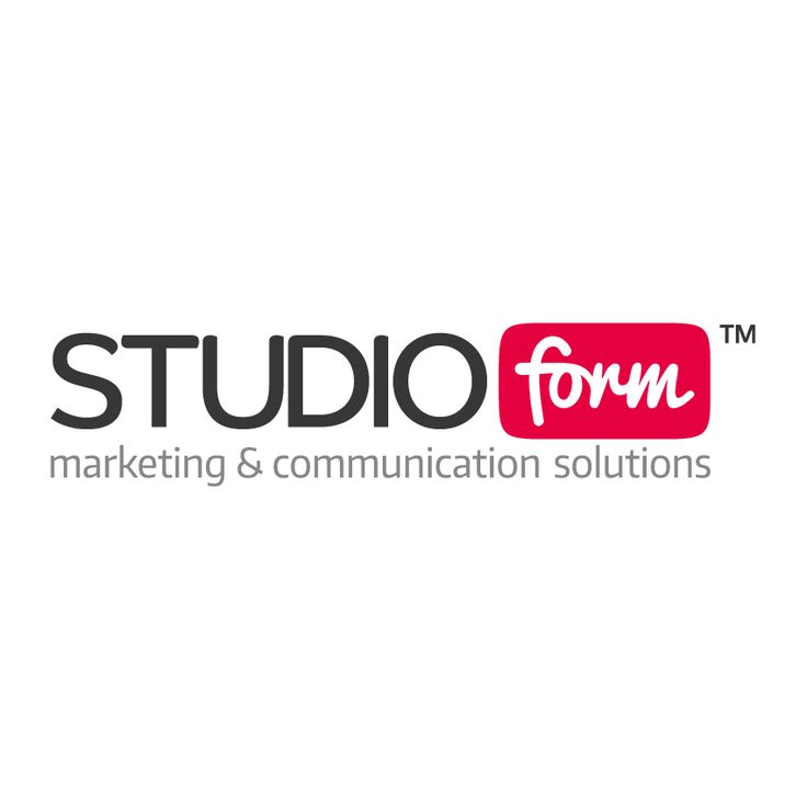 STUDIO FORM  marketing & communication solutions  BRAND NEW LOGO !