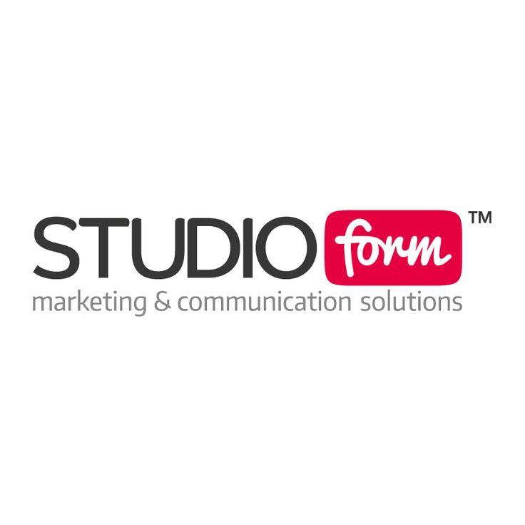 STUDIO FORM  marketing & communication solutions  BRAND NEW LOGO !