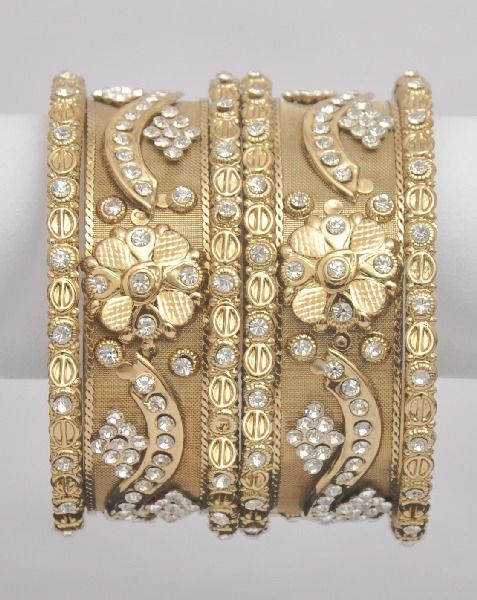Wedding Indian Bangles With Stones