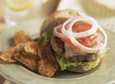 Turkey Burger - Alison Miksch/Getty Images