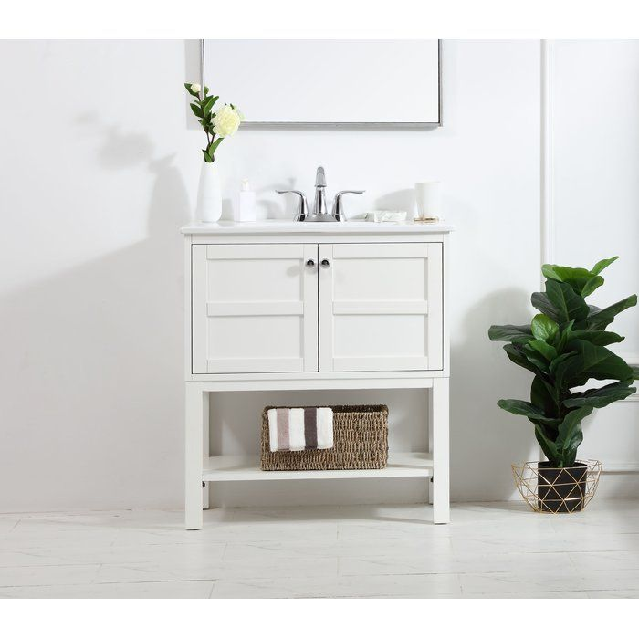 Maisy 30 Single Bathroom Vanity Set In 2020 Small Bathroom