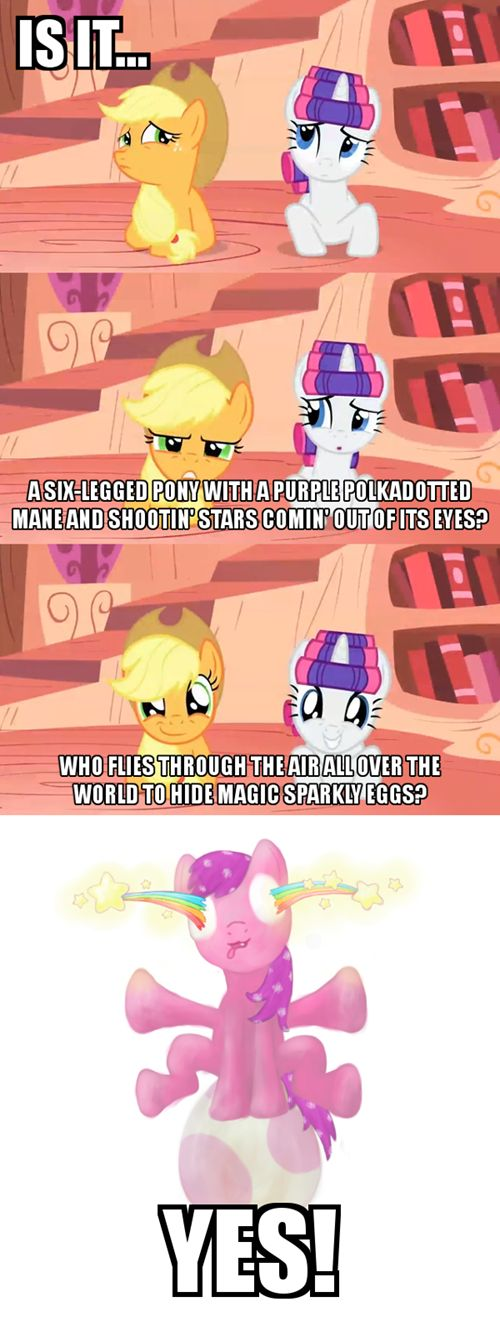 It Was Actually Twilight's Telescope - Cheezburger