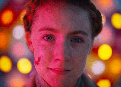 Saoirse Ronan in The Grand Budapest Hotel//One of my favorite moments