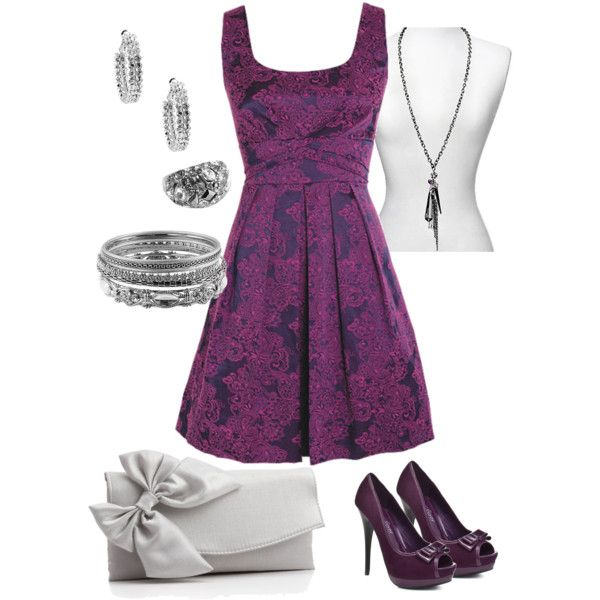 purple brocade