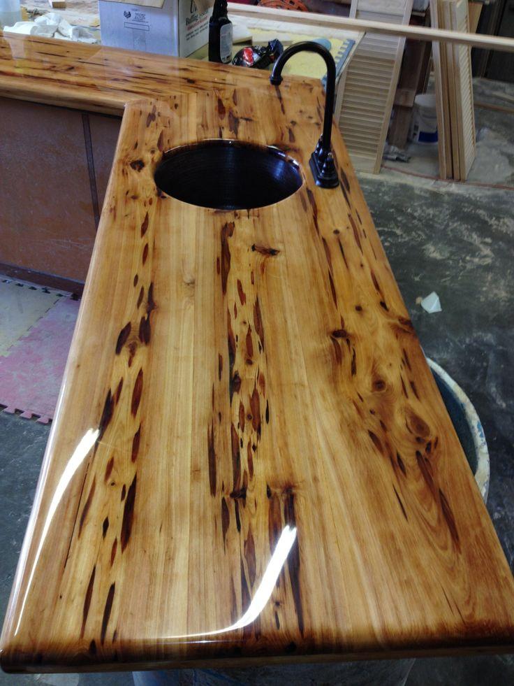 Peck Cypress Bar Top Wood Work Pinterest Bar Tops