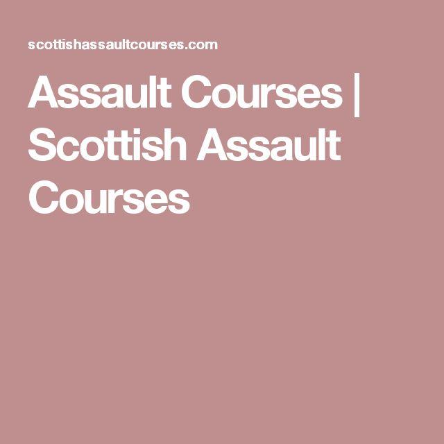 Assault Courses | Scottish Assault Courses