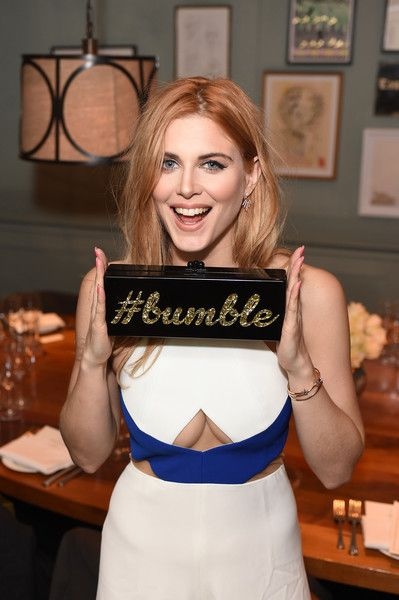 Ashley James Photos - Ashley James attends a private dinner hosted by Whitney Wolfe founder and CEO of Bumble dating app at Soho House on March 3, 2016 in London, England. - Bumble Private Dinner Hosted By Whitney Wolfe