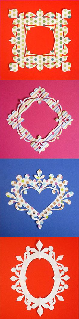 Japanese Kirigami Art(Cut Paper) By Syandery. Kirigami which is suited for Scrap Booking.