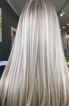 50 idées de couleur de cheveux longs blonde en 2019