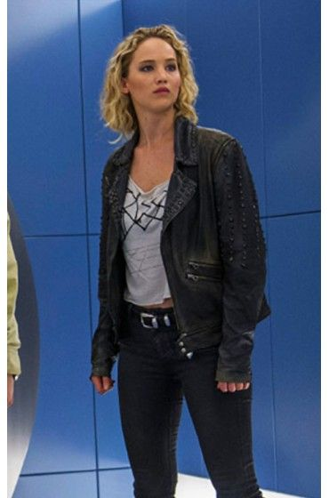 Buy Online Now! X-Men Apocalypse Raven Jennifer Lawrence Studded Black Leather Jacket for sale at Affordable Price $199.00. #XMen #Apocalypse #XmenApocalypse #Raven #JenniferLawrence #BlackLeatherJacket #LeatherJacket #Jacket #WomensFashion #Stylish #OOTD