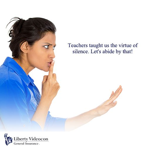 Our teachers imbibed in us the virtue of silence. This teacher's day let's vow to be silent on the streets by not using the honk. #HornNotOKPlease