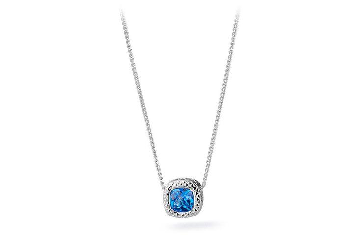 MD02 Collana in argento 925 con topazio #finejewelry #necklaces #collane #gioielli #jewelry #topazio