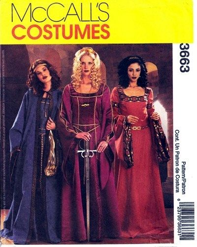 Renaissance Wedding Dress Costume History Mccall S By Heychica: 17 Best Images About Costumes On Pinterest