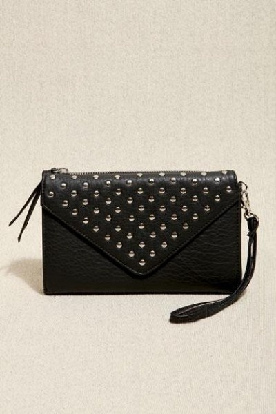 Urban Outfitters Studded Purse Black by Urban Outfitters