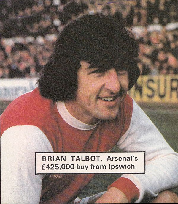 27th January 1979. Arsenal ball winner Brian Talbut making his debut against Notts County in the FA Cup 4th Round. Talbot's £425,000 transfer from Ipswich Town had dragged on for nearly a month as they held out for a larger price.